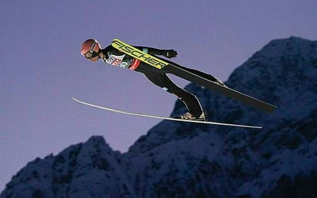 Karl Geiger ist Sportler des Monats Dezember