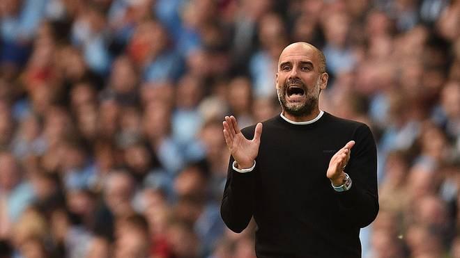 Pep Guardiola wurde mit Manchester City in der vergangenen Saison Meister