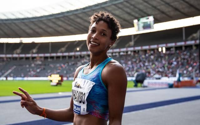 Malaika Mihambo ist die große Goldfavoritin bei der WM