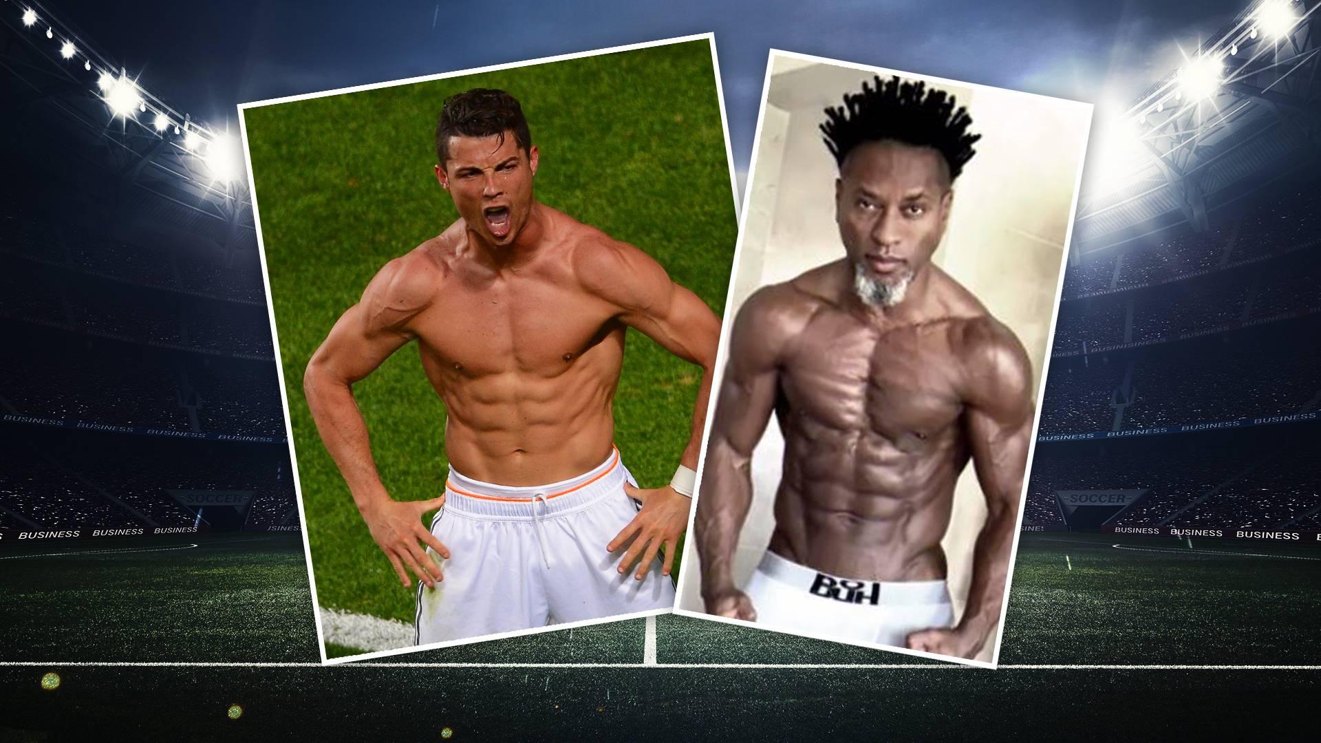 Bessere Physis Als Cr7 Muskelmann Ze Roberto Fordert Cristiano Ronaldo Heraus