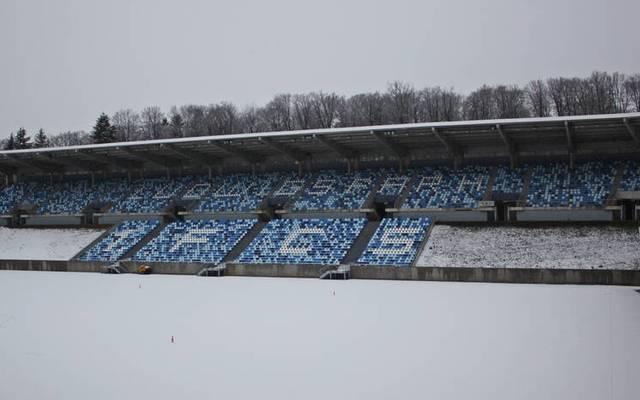 An Fußball ist im Saarbrücker Ludwigsparkstadion derzeit nicht zu denken
