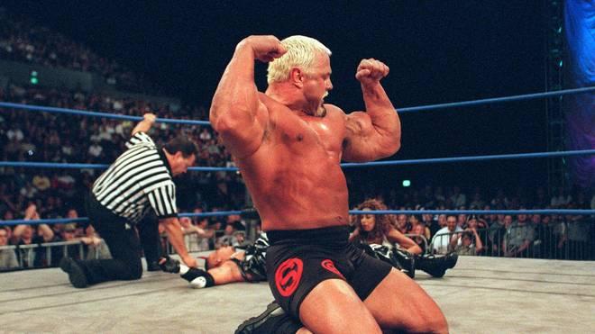 Der frühere WCW-Champion Scott Steiner ist noch immer aktiv