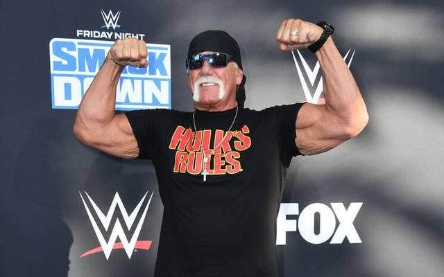 Hulk Hogan ist einer der Moderatoren von WrestleMania 37