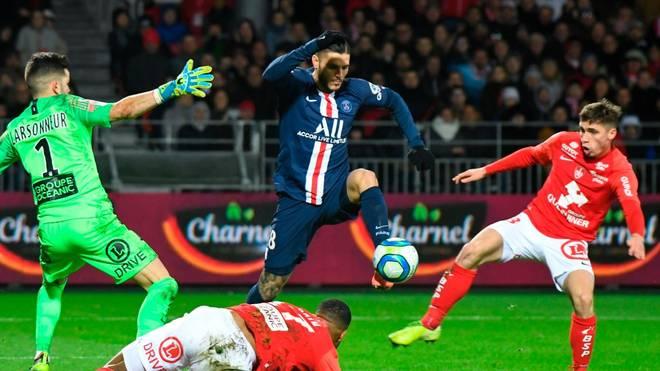 Mauro Icardi erzielte kurz vor Schluss den Siegtreffer für PSG