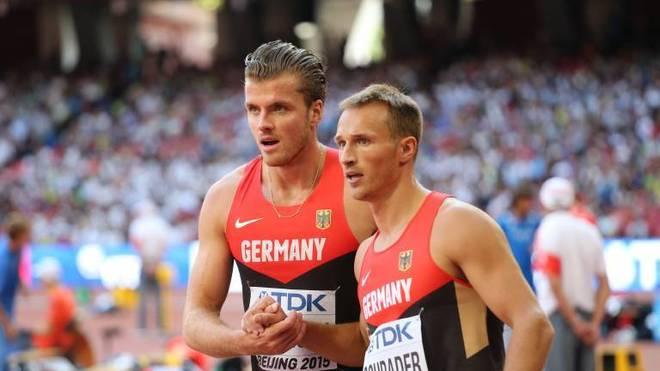 Rico Freimuth (l.) und Michael Schrader hatten häufig mit Verletzungen zu kämpfen