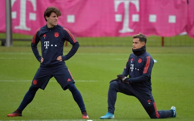 Beim FC Bayern stehen Philippe Coutinho und Alvaro Odriozola im Kader