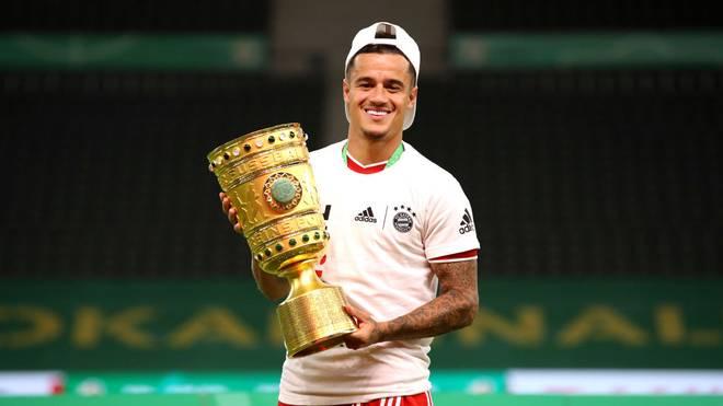 Philippe Coutinho wird den FC Bayern nach der Saison wieder verlassen