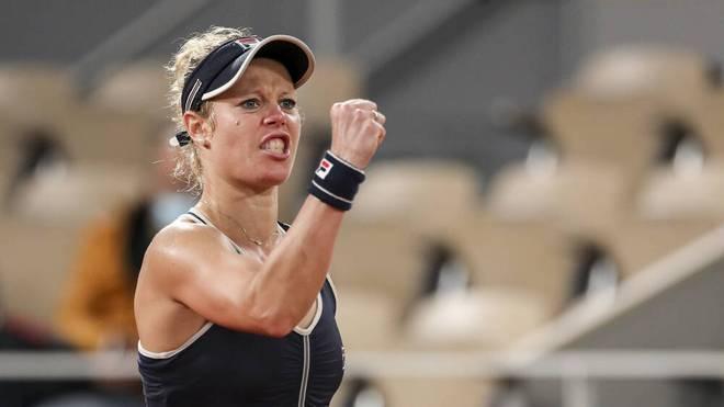 Laura Siegemund steht in der 2. Runde der French Open