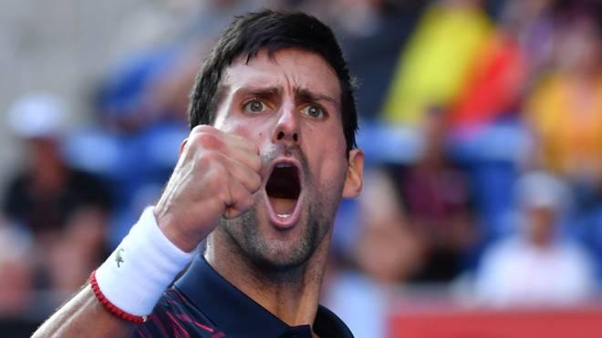 Novak Djokovic hat das ATP-Turnier in Tokio gewonnen