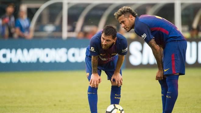 Messi und Neymar wollen gerne wieder zusammenspielen