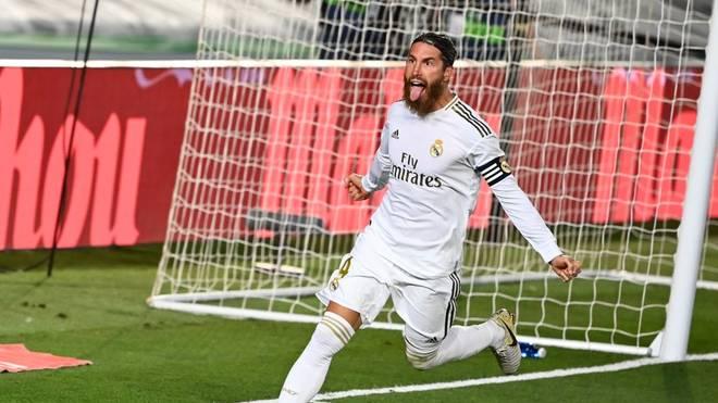 Sergio Ramos erzielte diese Saison schon zwölf Treffer