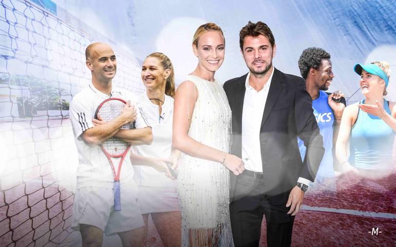 Immer wieder entstehen im Tennis-Zirkus Beziehungen unter den Athleten. SPORT1 zeigt ehemalige und aktuelle Tennis-Paare