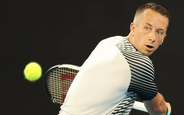 Philipp Kohlschreiber verliert beim ATP Turnier in Rotterdam gegen den Briten Daniel Evans
