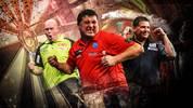 Darts World Matchplay mit Michael van Gerwen, Mensur Suljovic und Gary Anderson