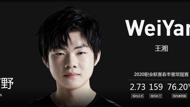 WeiYan war seit dem Summer Split '19 Stammspieler auf der Jungle-Position bei den Rogue Warriors.