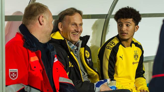 Hans-Joachim Watzke bestätigt den Verbleib von Jadon Sancho beim BVB