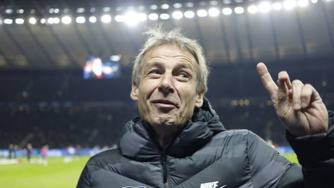 Jürgen Klinsmann fungiert bis Saisonende als Trainer von Hertha BSC