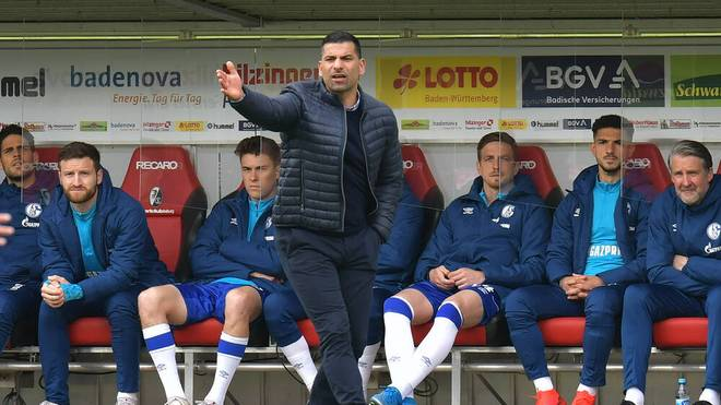 Auch unter Dimitrios Grammozis sind auf Schalke keine besseren Resultate in Sicht