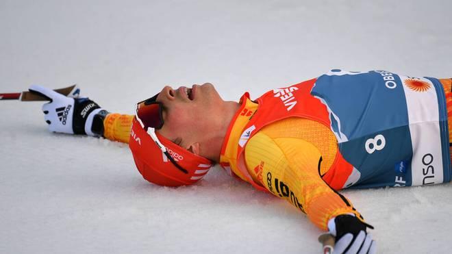 Eric Frenzel war als bester Deutscher Vierter