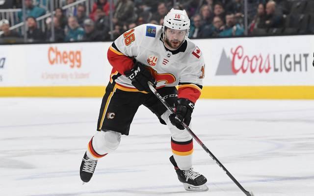 Tobias Rieder spielt seit September 2019 für die Calgary Flames