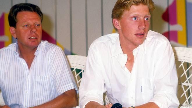 Günther Bosch war bis 1987 Trainer von Boris Becker