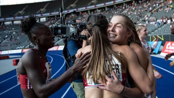 Die deutschen Sprinterinnen stehen im WM-Finale