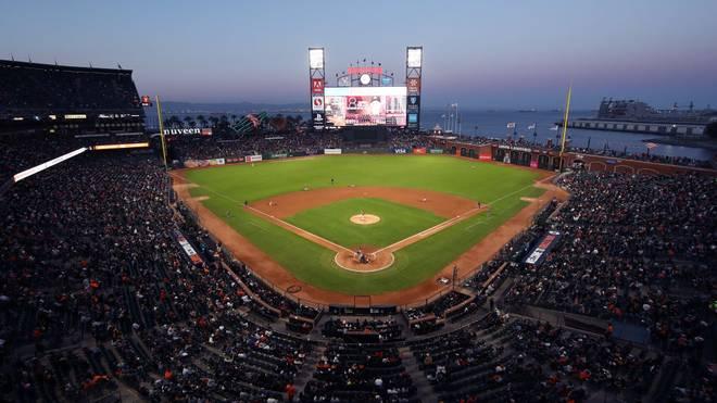 Der Oracle Park ist die Heimspielstätte der San Francisco Giants