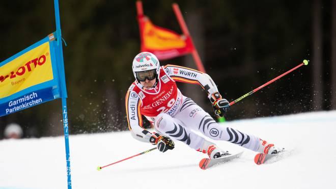 Stefan Luitz konnte beim Riesenslalom in Garmisch überzeugen
