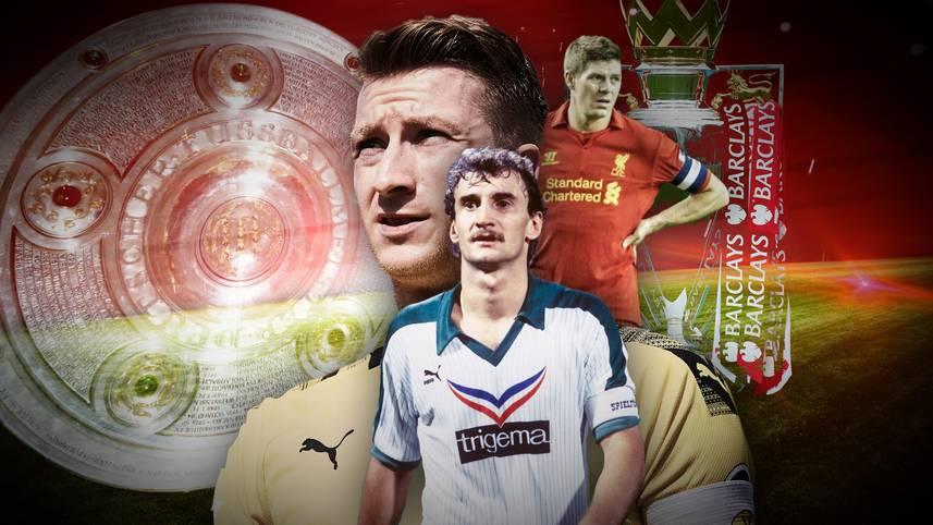 Marco Reus ist der wohl beste deutsche Spieler, der noch nie Meister wurde. Sollte dies dabei bleiben, hätte der Dortmunder prominente Leidensgenossen