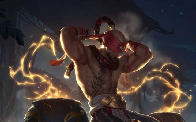 Lee Sin ist ein Angehöriger der Ionia-Region in Legends of Runeterra.