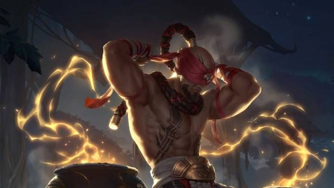 Lee Sin ist ein Angehöriger der Ionia-Region in Legends of Runeterra.