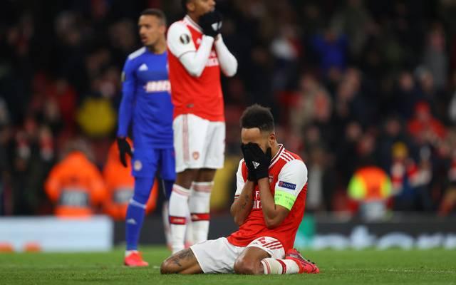 Pierre-Emerick Aubameyang könnte den FC Arsenal im Sommer verlassen