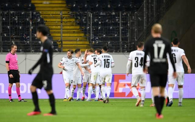 Eintracht Frankfurt unterlag dem FC Basel