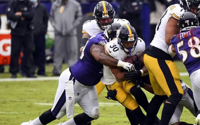 Die Baltimore Ravens haben in dieser Saison bereits ein Spiel gegen die Pittsburgh Steelers verloren