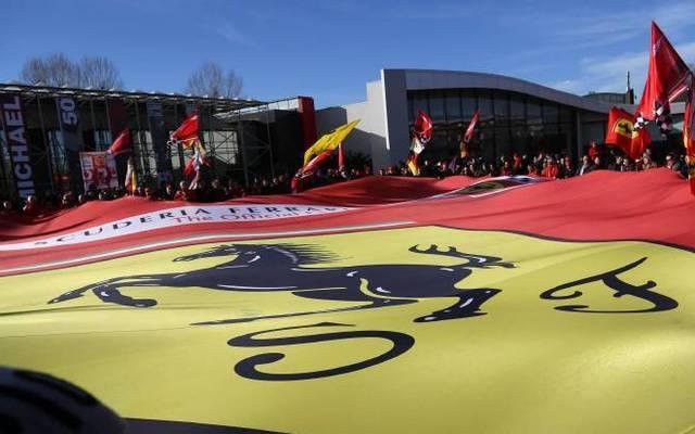Das Ferrari-Hauptquartier in Maranello