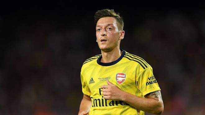 Mesut Özil hat bei Arsenal einen schweren Stand