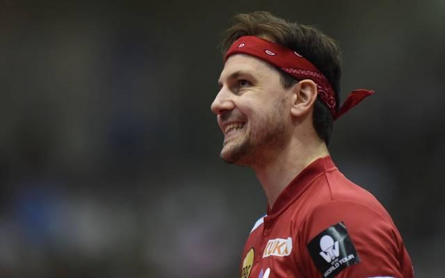 Timo Boll und das deutsche Team haben eine Medaille in Japan verpasst