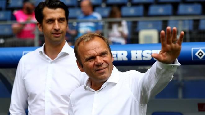 Bernd Hoffmann (r.) und Jonas Boldt liegen im Zwist