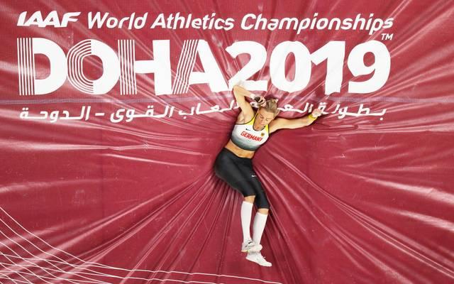 Lisa Ryzih kann bei der WM in Doha nicht in den Kampf um die Medaillen eingreifen