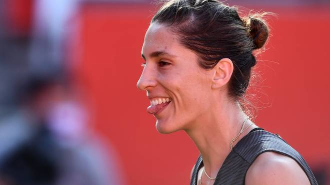 Andrea Petkovic fliegt raus - lässt sich deshalb aber noch lange nicht unterkriegen