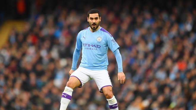 Ilkay Gündogan spielt seit 2016 für Manchester City