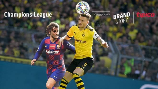Antoine Griezmann (l.) und der FC Barcelona treten bei Marco Reus und dem BVB an