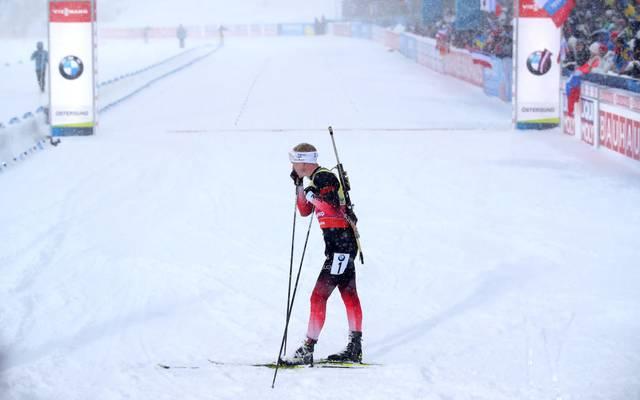 Johannes Thingnes Boe gewinnt den Sprint in Hochfilzen