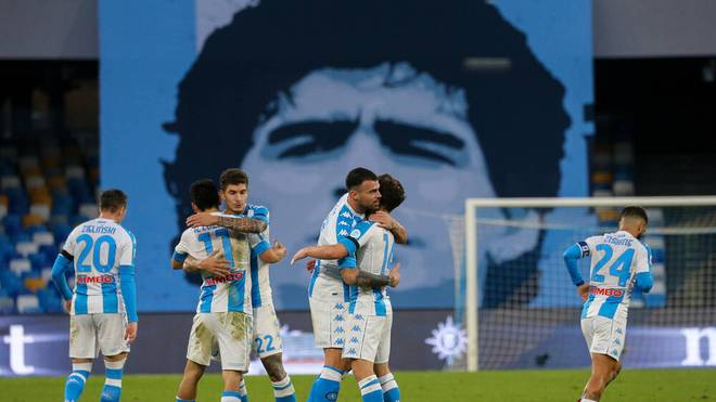 "Neapel gewann das erste Spiel im ""Stadio Diego Armando Maradona"""