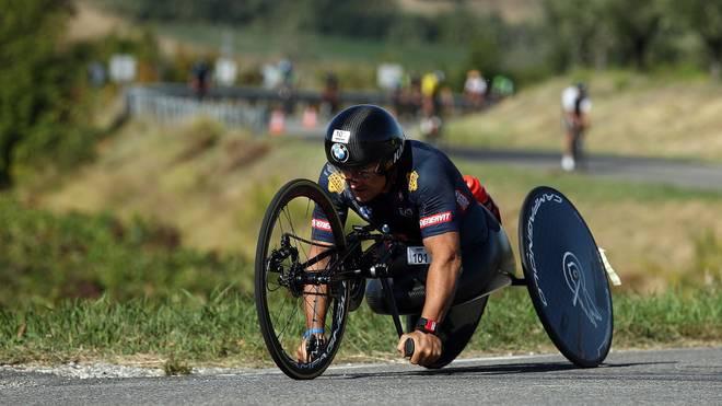 Alessandro Zanardi verletzte sich bei einem Unfall schwer