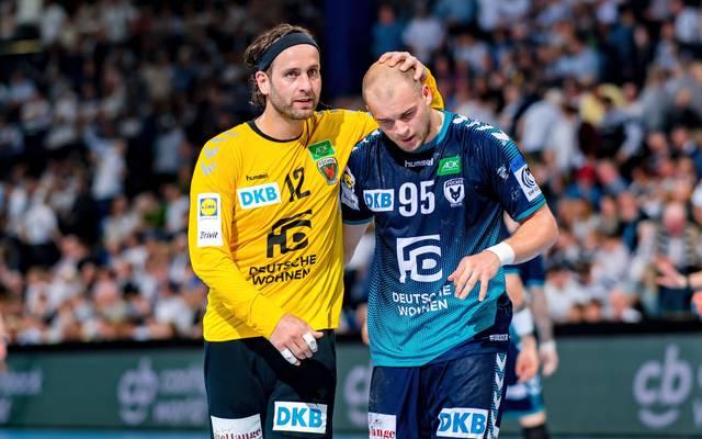 Paul Drux und Silvio Heinevetter spielen in der neuen Saison nicht mehr in einem Team