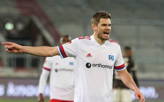 Simon Terodde erzielte den Ausgleich für den HSV