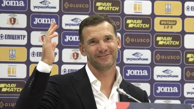 Andrej Schewtschenko ist seit 2016 ukrainischer Nationaltrainer