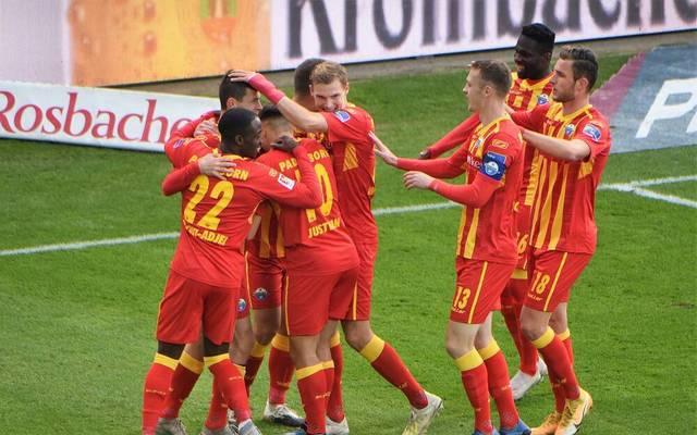 Paderborn würde gegen den KSC gerne wieder jubeln