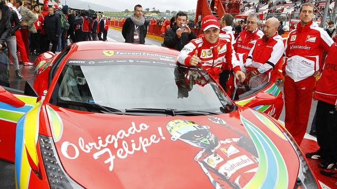 Felipe Massa fuhr bis 2013 für Ferrari